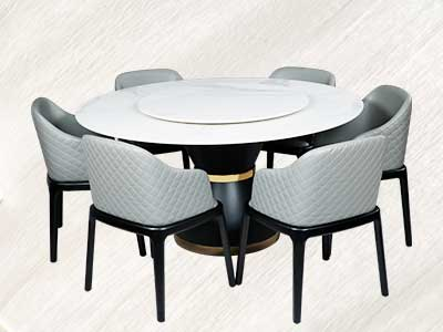 The Maark Round Marble Dining