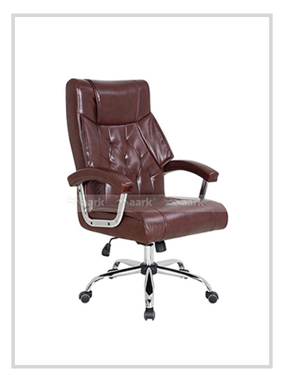 Back Designed MD Chair-Brown