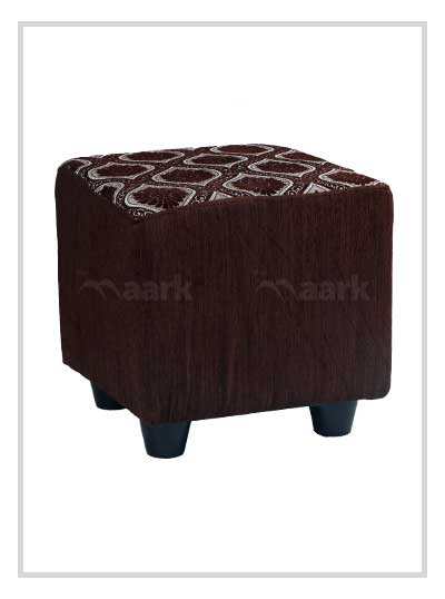 Puffy Stool in Black Color