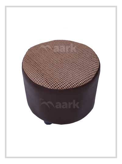 Brown Puffy Stool