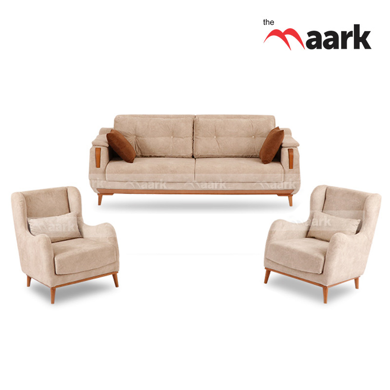 Classic And Comfort Fabric Sofas  2+1+1