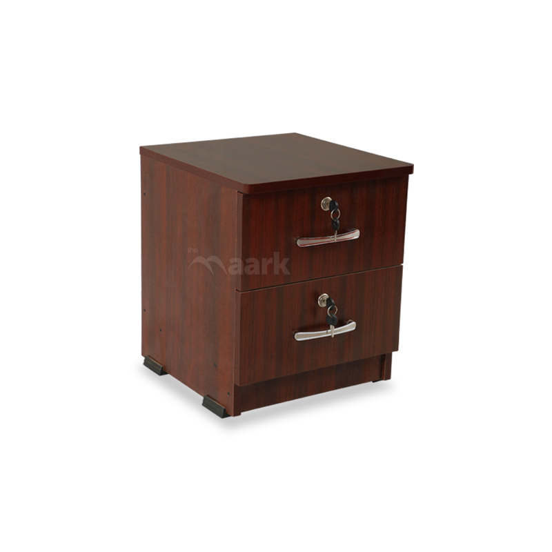BedSide Table Mahogany Color