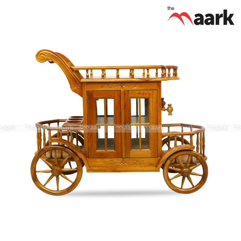 Wooden Trendy Trolley