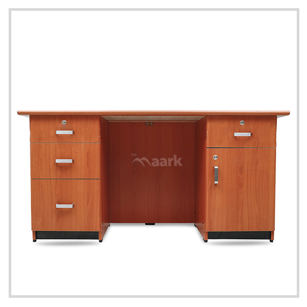 Wooden Office Browny Table