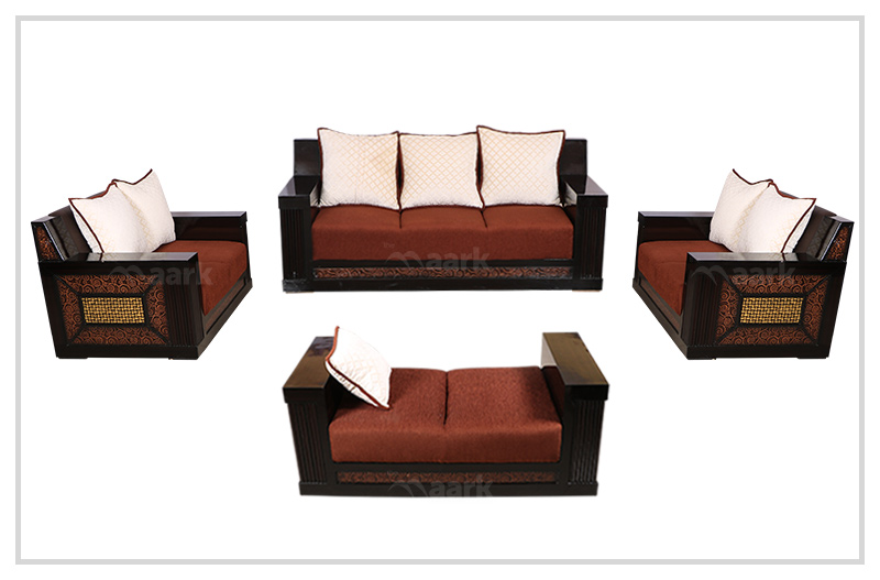 Woody Fabric Sofa 3+2+2+Shetty